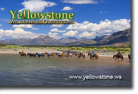 Yellowstone River with Absarokas